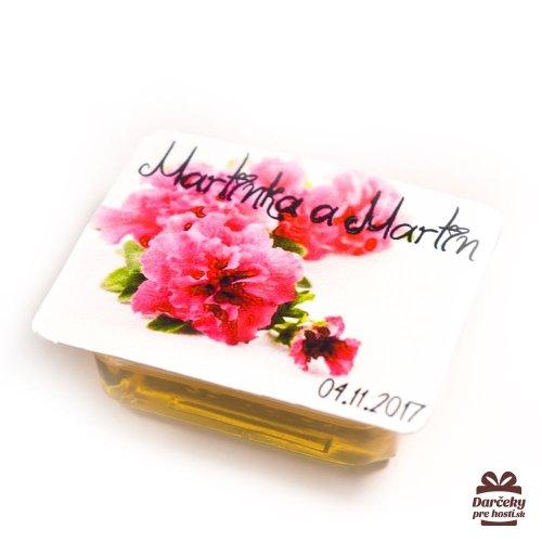 Svatební med pro hosty, motív S005