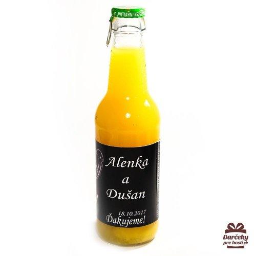 Svatební ovocný nápoj pro hosty, motív S013