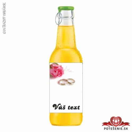 Svatební ovocný nápoj pro hosty, motív S029