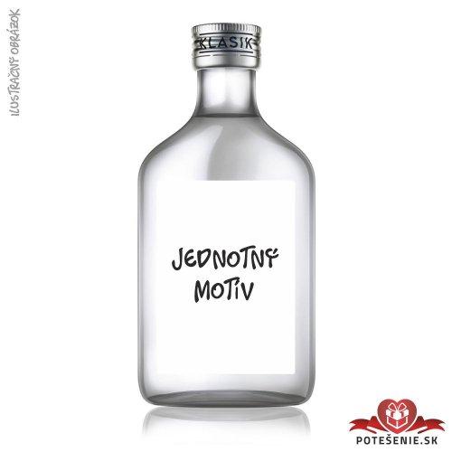 Svatební lahvička s alkoholem, jednotný motív - Jednotný motív