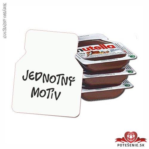 Svatební mini Nutella, jednotný motív - Jednotný motív