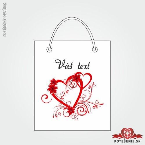 Taška na dárek pro svatební hosty, motív T139