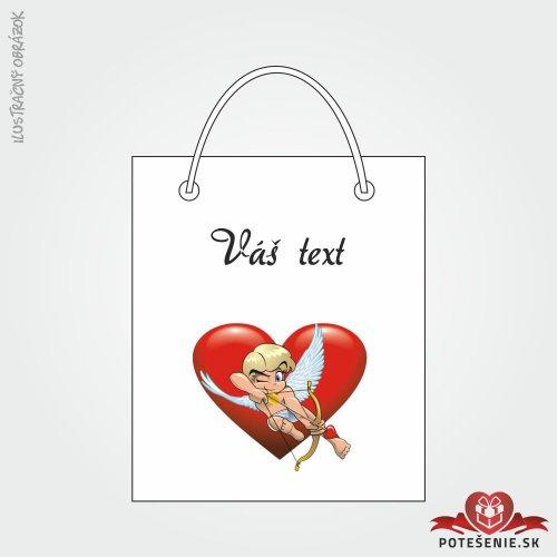 Taška na dárek pro svatební hosty, motív T140