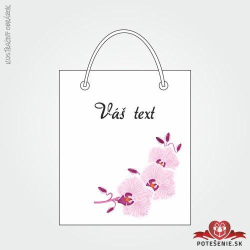 Taška na dárek pro svatební hosty, motív T127