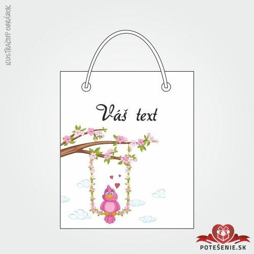 Taška na dárek pro svatební hosty, motív T129