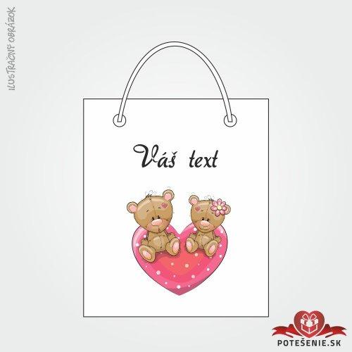Taška na dárek pro svatební hosty, motív T132