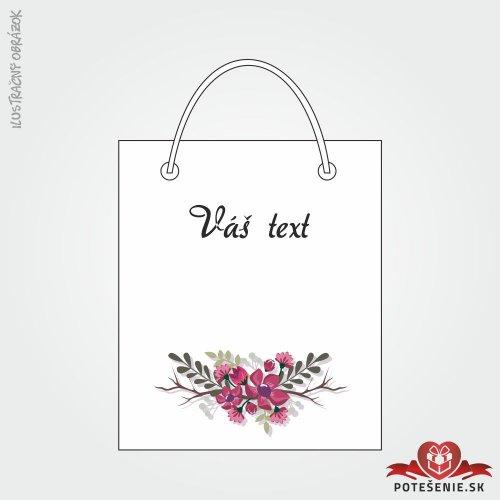 Taška na dárek pro svatební hosty, motív T133