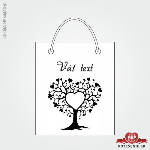 Taška na dárek pro svatební hosty, motív T120
