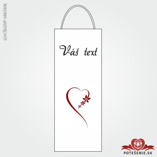 Taška na víno pro svatební hosty, motív T130