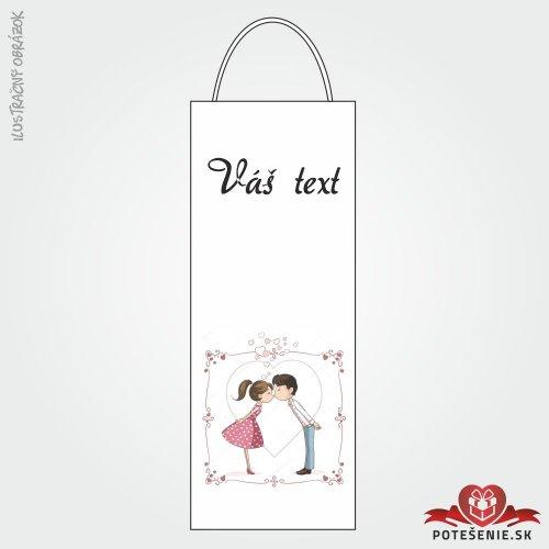 Taška na víno pro svatební hosty, motív T132