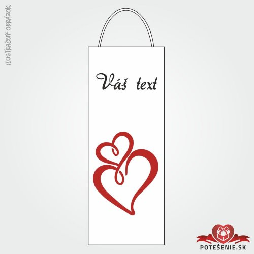 Taška na víno pro svatební hosty, motív T117