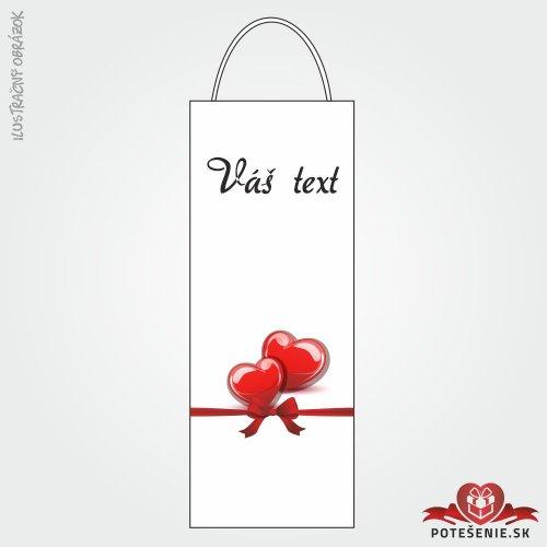 Taška na víno pro svatební hosty, motív T105