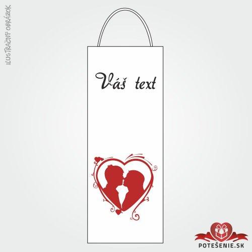 Taška na víno pro svatební hosty, motív T115