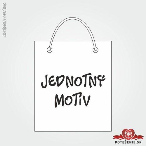 Taška na dárek pro svatební hosty, jednotný motív - Jednotný motív