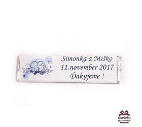 Svatební žvýkačky pro hosty, motív S001